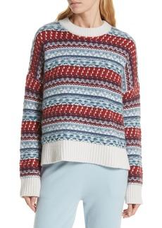 Nordstrom Signature Fair Isle Cashmere Sweater