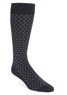 Nordstrom Signature Foulard Dot Merino Wool Blend Dress Socks (Buy More & Save)