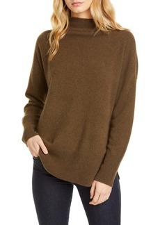 Nordstrom Signature Funnel Neck Cashmere Sweater