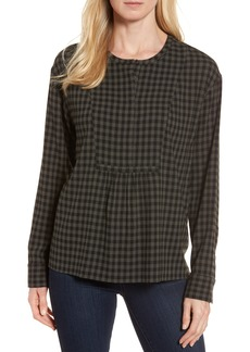 Nordstrom Signature Gingham Check Blouse