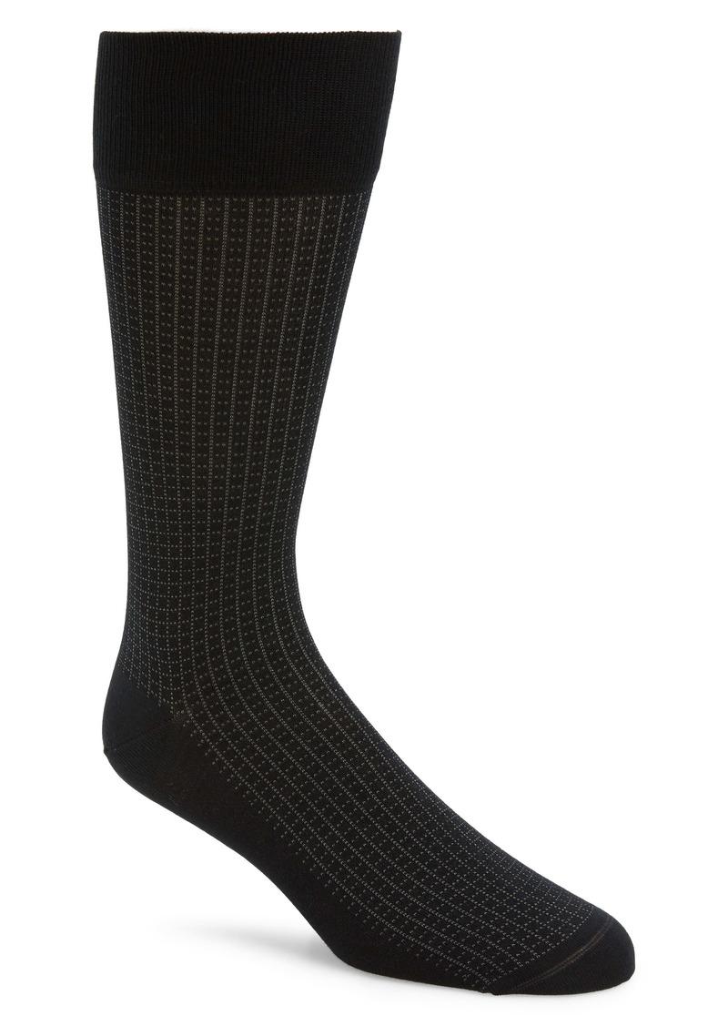 Nordstrom Signature Grid Socks