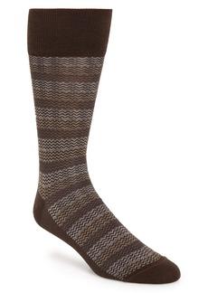 Nordstrom Signature Herringbone Merino Wool Blend Socks