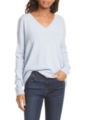 Nordstrom Signature High/Low Cashmere Sweater