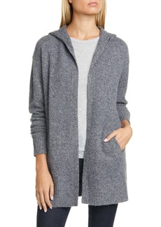 Nordstrom Signature Hooded Boiled Cashmere Cardigan