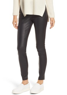 Nordstrom Signature Stretch Leather Leggings
