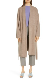 Nordstrom Signature Long Boiled Cashmere Cardigan