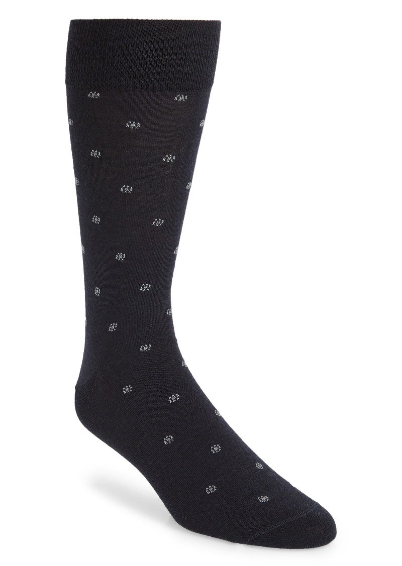 Nordstrom Signature Merino Foulard Dot Dress Socks (Any 3 for $40)