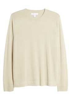 Nordstrom Signature Merino Wool Blend Crewneck Sweater
