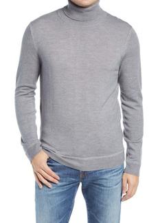 Nordstrom Signature Merino Wool Garment Dye Turtleneck Sweater