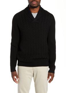 Nordstrom Signature Merino Wool Shawl Collar Sweater