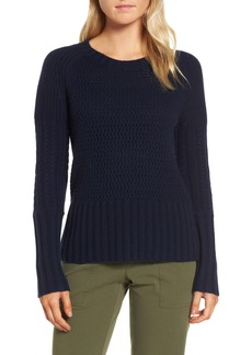 Nordstrom Signature Mixed Stitch Cashmere Sweater
