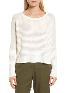 Nordstrom Signature Mixed Stitch Sweater