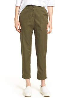 Nordstrom Signature Patch Pocket Ankle Pants