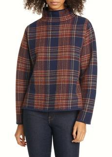 Nordstrom Signature Plaid Mock Neck Sweater
