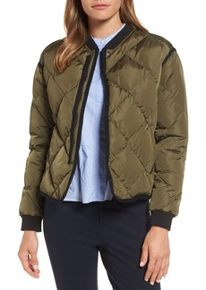 Nordstrom Signature Quilted Bomber Jacket