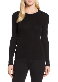 Nordstrom Signature Ribbed Cashmere Sweater