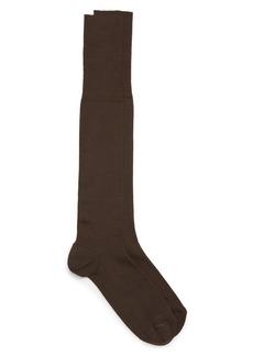 Nordstrom Signature Ribbed Merino Wool Blend Dress Socks