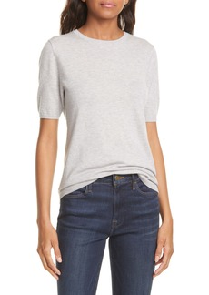Nordstrom Signature Short Sleeve Cashmere Sweater