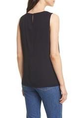 Nordstrom Signature Sleeveless Stretch Silk Top