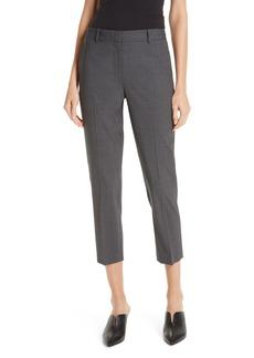Nordstrom Signature Slim Crop Stretch Wool Pants