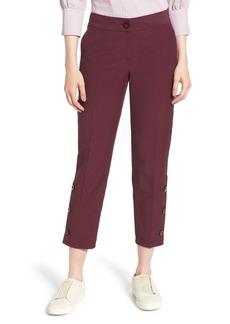 Nordstrom Signature Slim Leg Crop Pants