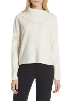 Nordstrom Signature Split Turtleneck Cashmere Sweater