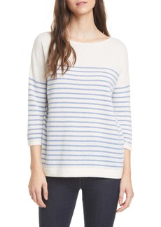 Nordstrom Signature Stripe Cashmere Sweater