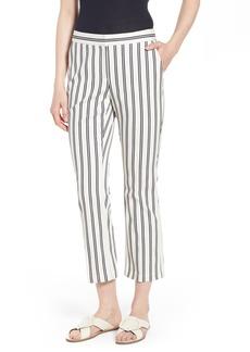 Nordstrom Signature Stripe Crop Pants
