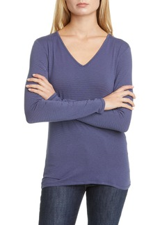 Nordstrom Signature Stripe Long Sleeve Top