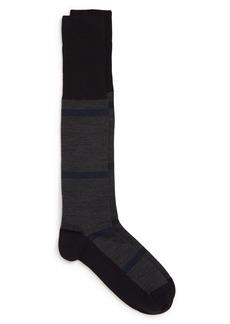 Nordstrom Signature Stripe Merino Wool Blend Socks