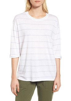 Nordstrom Signature Stripe Relaxed Tee