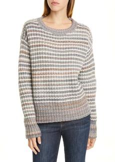 Nordstrom Signature Stripe Wool Blend Pullover