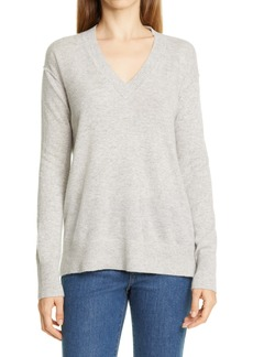 Nordstrom Signature V-Neck Cashmere Sweater