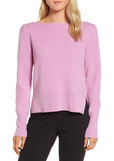 Nordstrom Signature Waffle Stitch Cashmere Sweater