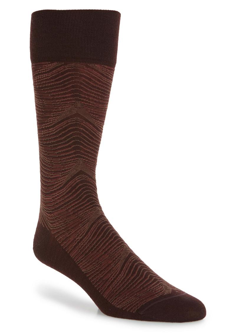 Nordstrom Signature Wave Merino Wool Blend Dress Socks (Any 3 for $40)