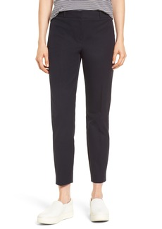 Nordstrom Signature Welt Pocket Slim Leg Crop Pants