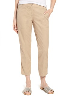 Nordstrom Signature Wide Leg Crop Pants