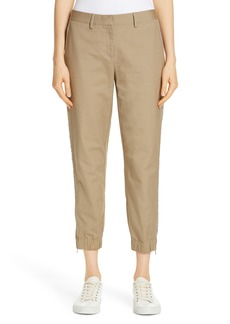Nordstrom Signature Zip Ankle Jogger Pants