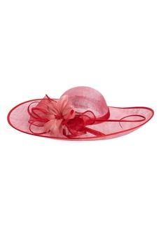 Nordstrom Sinamay Fascinator Derby Hat