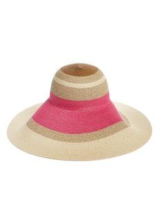 Nordstrom Statement Floppy Straw Hat