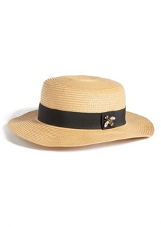 Nordstrom Straw Boater Hat