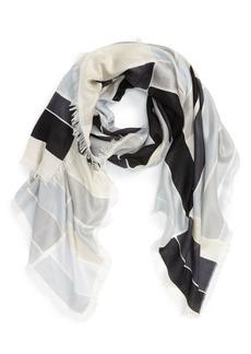 Nordstrom Stripe Cashmere & Silk Scarf
