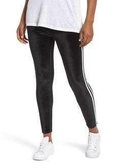 Nordstrom Stripe Velvet Leggings