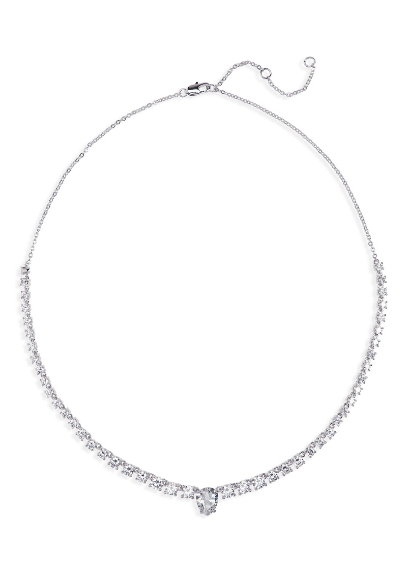 Nordstrom Teardrop Center Collar Necklace