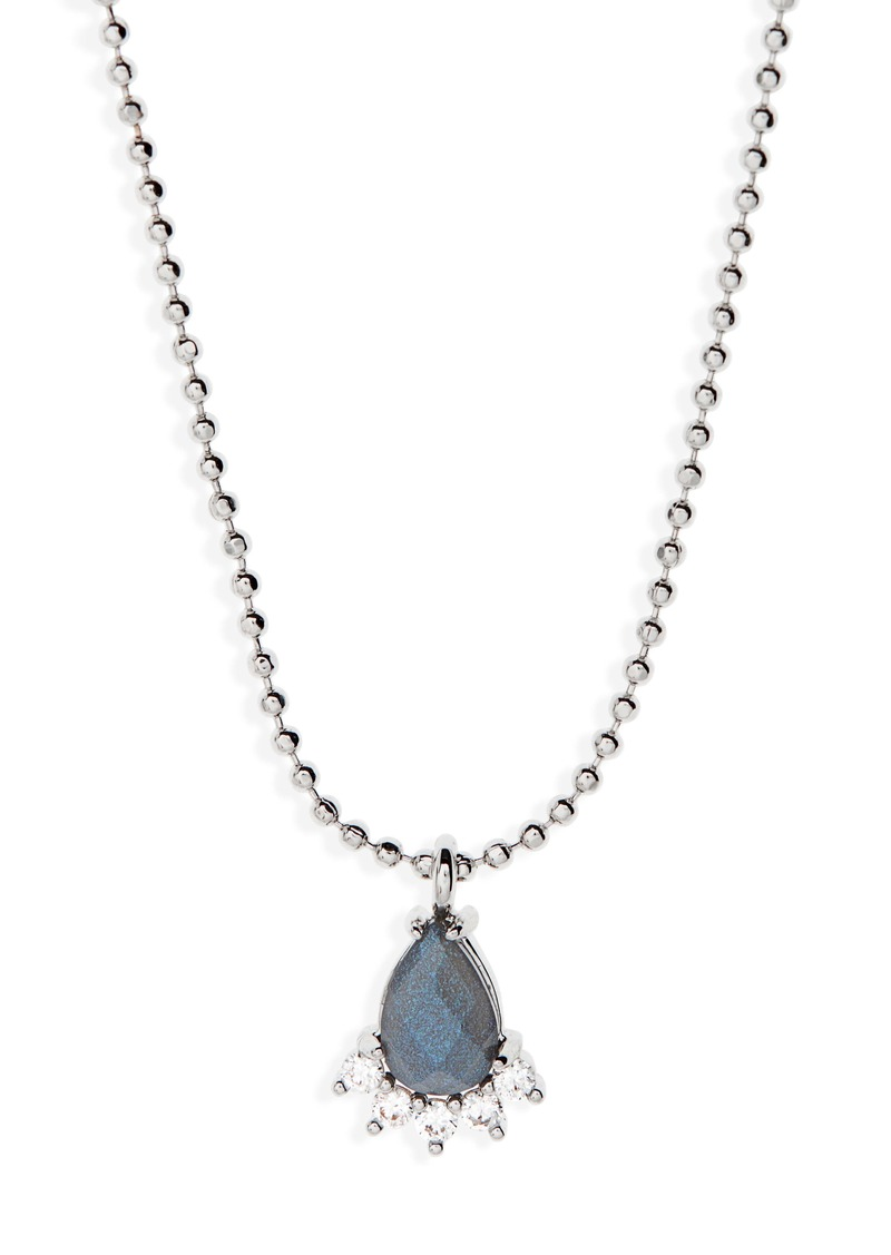 Nordstrom Teardrop Pendant Necklace