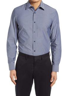 Nordstrom Tech-Smart Trim Fit Dobby Performance Button-Up Shirt