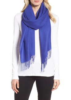 Nordstrom Tissue Weight Wool & Cashmere Scarf