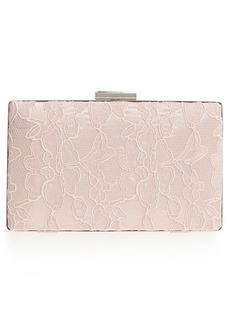 Nordstrom Tonal Lace Minaudiere