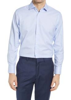 Nordstrom Trim Fit Non-Iron Windowpane Dress Shirt