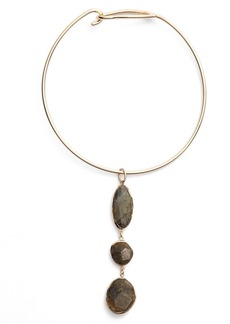 Nordstrom Triple Stone Collar Necklace